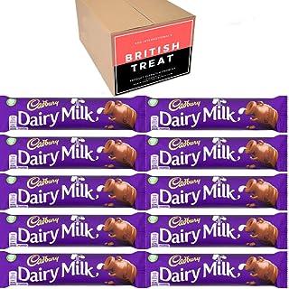 KDD International's Cadbury Chocolates 10 Packs - British Gift - (Dairy Milk 45g)