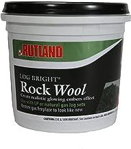 Rutland 587 Bright Rock Wool for Gas Log
