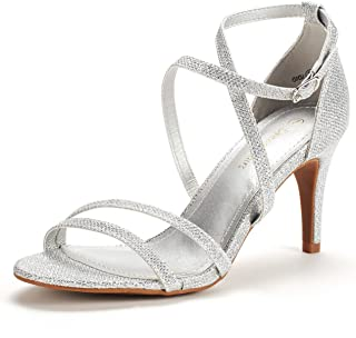 sparkly strappy shoes