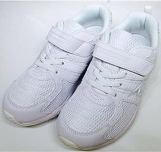 [アキレス] 子供靴 白 瞬足 白 ホワイト 運動靴 ジュニア 軽量シューズ 軽い 靴 キッズ スニーカー 子供 シュンソク 真っ白 外履き 2E 男の子 女の子 小学生 低学年 高学年 通学靴 靴 シューズ