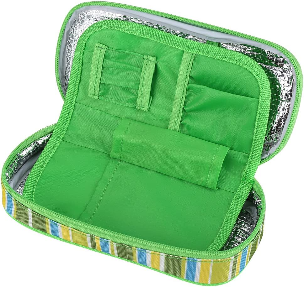 Fdit Portable Diabetic Insulin Cooler Bag Medical National products Organizer Insu shopping