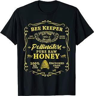 Beekeeping Honey Pollen Bee Old Time Honey Beekeeper T-Shirt