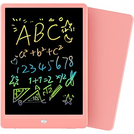 Orsen Girls Toys Age 4-5, Learning Educational Toys Gifts for Toddler Kids 3 4 5 6 7 Years Old, Colorful 10 LCD Writing Tablet Electronic Drawing Pad Doodle Board