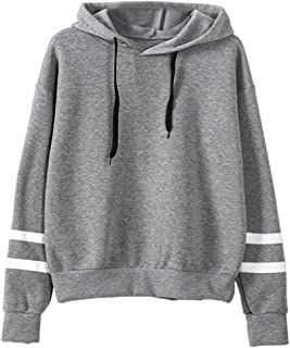 Comfy Women's Hood Slim Fitted Sweatshirt Drawstring Pullover