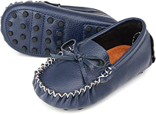 Augusta Baby Loafer Moccasin with Gommino Sole - Safety Certified Genuine Leather