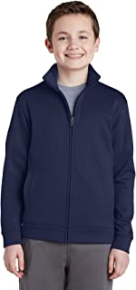 Sport-Tek Boy's Fleece Full-Zip Jacket