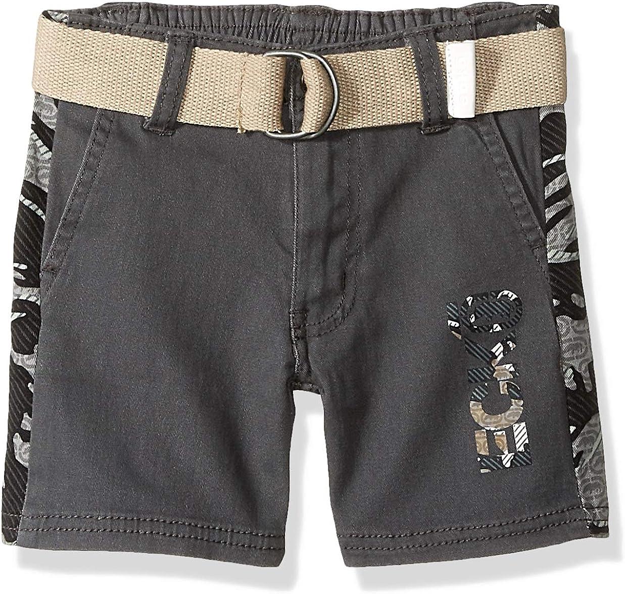 Marc Ecko Boys' Belted Twill Short