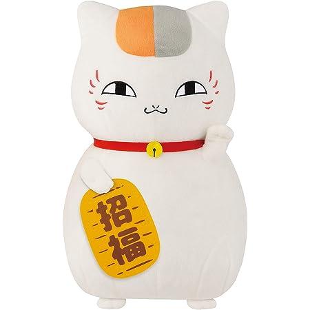夏目友人帳 めちゃでかぬいぐるみ ニャンコ先生 招き猫 約38cm