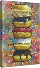 Easy Planet Donuts on Canvas Vertical Wall Art