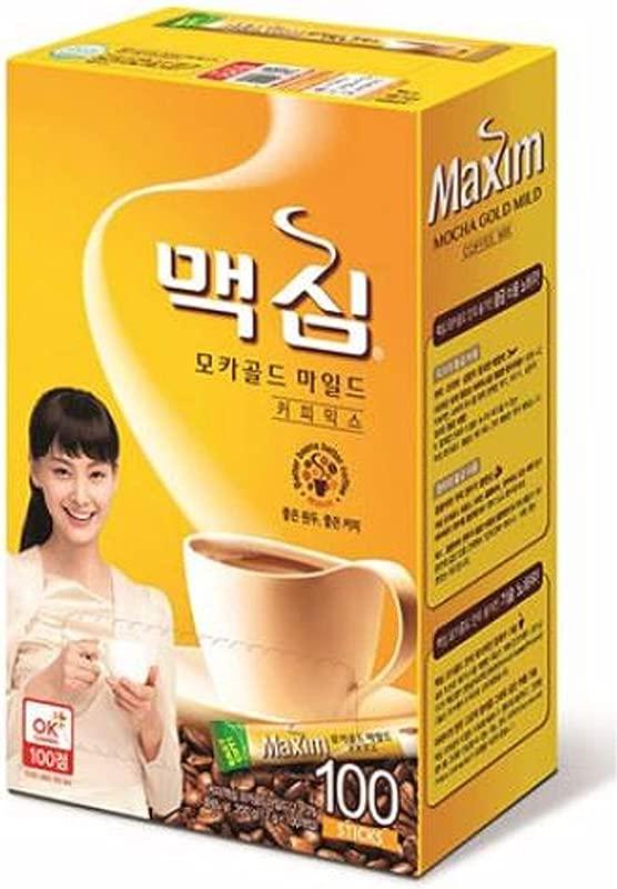 Maxim Mocha Gold Mild Coffee Mix 100pks