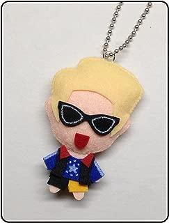 f(x) Amber - Shake That Brass KPOP Handmade Doll Keychain