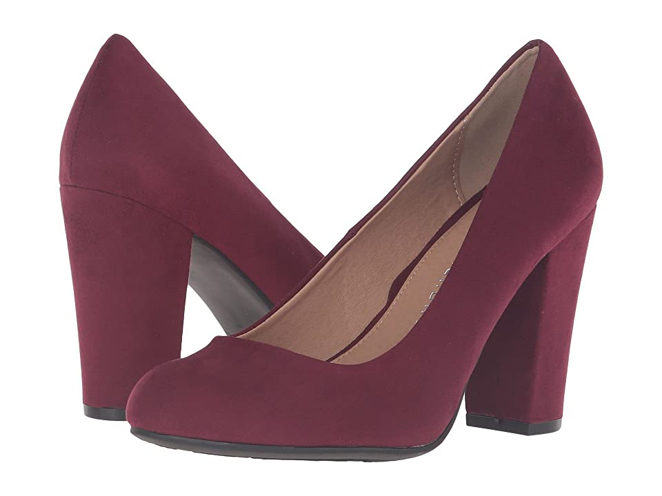 Chinese Laundry Exclusive - Z-Happy Hour (Merlot) High Heels, Red