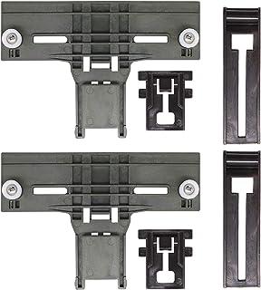 W10350376 Dishwasher Top Rack Adjuster,Adapted to W10195840 & W10195839 & W10250160 & W10508950 Dishwashers adjuster kit f...