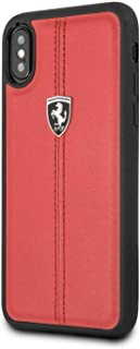 ferrari Heritage Hard Case for iPhone X - Red