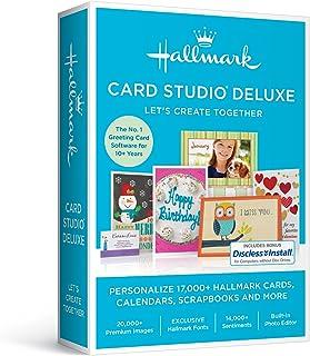 Nova Development US Hallmark Card Studio Deluxe 2017 2017 - Old Version