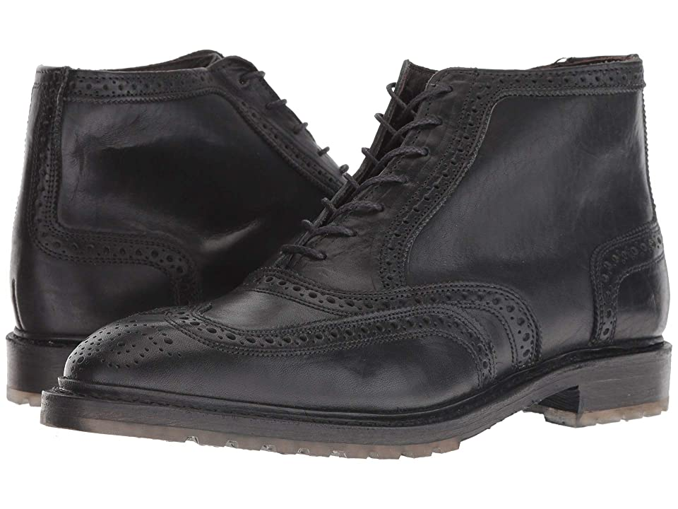 1920s Style Mens Shoes | Peaky Blinders Boots Allen Edmonds Stirling Black Dublin Mens Lace-up Boots $444.95 AT vintagedancer.com