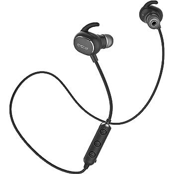 QCY QY19Pro ワイヤレスイヤホン Bluetooth イヤホン スポーツ ランニング IPX4 防水 軽量 小型 スマホ 音量調整 カナル型 高音質 両耳 ブルートゥース イヤホン ワイヤレス ヘッドホン ヘッドセット 長時間 iPhone Android 対応 (ブラック)