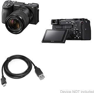 Cabo Sony Alpha a6600, BoxWave [cabo DirectSync] durável de carregamento e sincronização para Sony Alpha a6600