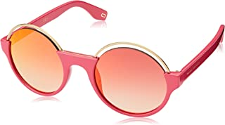 Marc Jacobs round Sunglasses for Unisex - Pink Lens (302-S Pink)