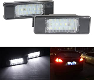 BSLighting Citroën LED License Number Plate Light Canbus Berlingo C2 C3 C4 C5 C6 C8 DS3