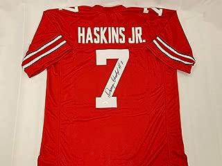 Ohio St Buckeyes Legend Dwayne Haskins Autographed Signed Red Jersey JSA Coa Redskins