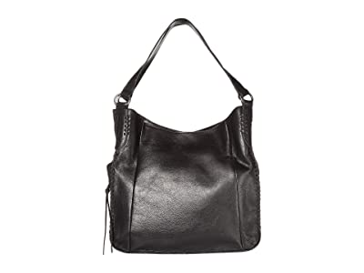 The Sak Salinas Triple Compartment Hobo by The Sak Collective (Black) Handbags