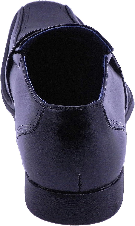 Mens Oxfords Loafer Casual Dress Black A-187 Color