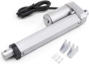 Happybuy Linear Actuator 6 Inch 12V DC with Mounting Bracket Heavy Duty 900N 10mm/s Linear Actuator for Recliner TV Table Lift Massage Bed Electric Sofa Linear Actuator