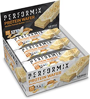 PERFORMIX Protein Wafers v2 - ioProtein Blend 12 Count Box, Vanilla Peanut Butter