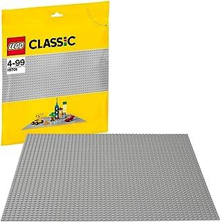 LEGO 10701 Classic Grijze Basisplaat 6,2 x 28,2 x 26,2 Cm, Bouwplaat voor Uitgebreide Bouwsets