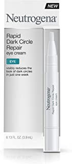 Neutrogena Rapid Dark Circle Repair Eye Cream, Nourishing & Brightening Eye Cream for Tired Eyes, .13 fl. oz