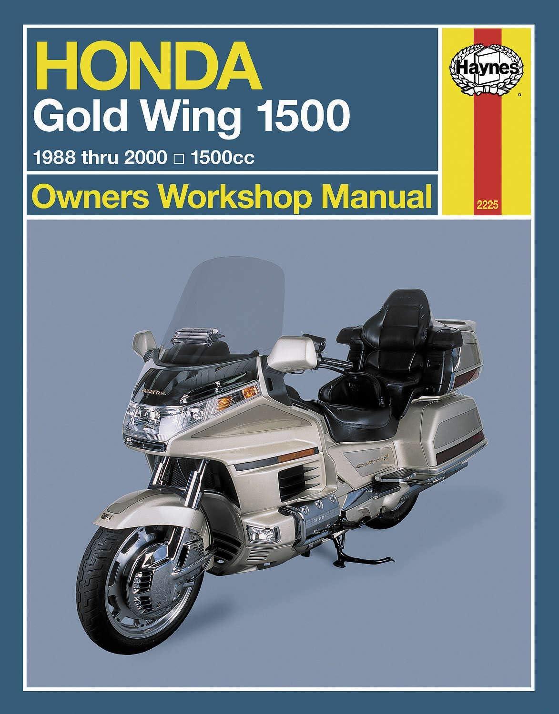 Haynes M2225 Repair Popular standard Manual for 90-00 Free shipping on posting reviews GL1500SE HONDA
