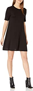 BCBGeneration Women's Easy Short Sleeve Swing Dress