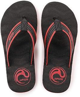 Men's Summer Flip Flops, Comfortable And Breathable Massage Sandals Non-Slip Slippers Toe Post Thong Platform Wedge Beach Shoes,Black,41