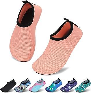 SAGUARO Chaussures de bain pour enfant fille - Chaussures de natation à séchage rapide - Chaussures aquatiques - Pour l'ex...
