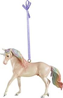Breyer 2019 Holiday Unicorn Ornament - Majesty   2019 Holiday Collection   Limited Edition   Model #700651