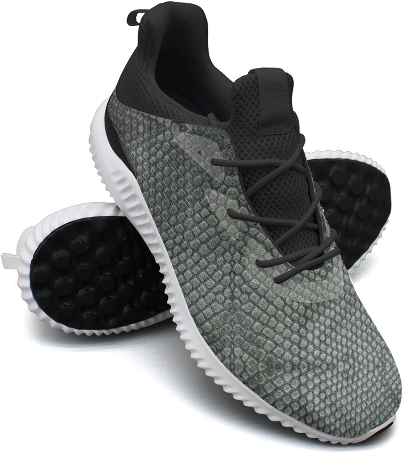 Snake Skin Case Leisure Sports Running shoes Woman's Printing Novelty colorful