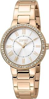 ESPRIT Women's Fashion Quartz Watch - ES1L228M0045; Rose Gold
