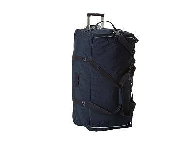 Kipling Discover Large Wheeled Luggage Duffle (Blue) Duffel Bags