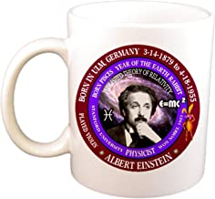 Albert Einstein Scientist/Physicist Born Pisces Zodiac Earth Rabbit Coffee Cup/Mug