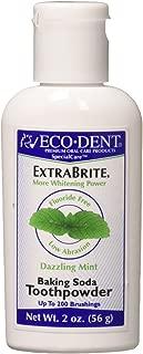 Eco-Dent International Tooth Whitener/Mint Powder 2 Oz (Pack of 3)