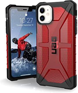 UAG for Apple iPhone 11 Anti-Shock Rugged Cover Urban Armor Gear Military Drop Tested Protective Case - Plasma Red