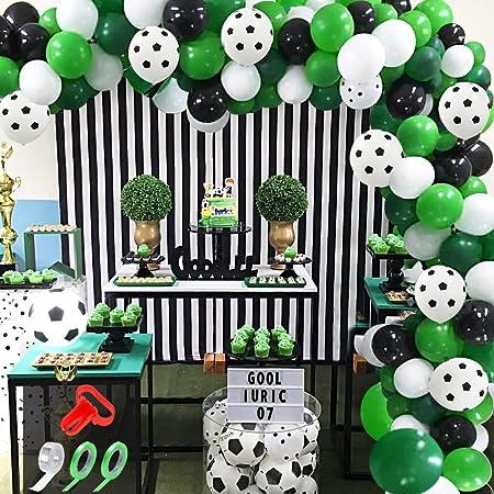 Fussball Kindergeburtstag Party Deko Set Dekoration EM WM Partydeko  Partyset