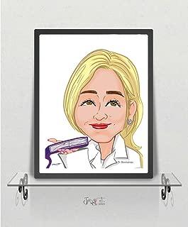 Custom Caricature Personalized Caricatures Cartoon Portrait Digital Custom Cartoon Caricature Personalized Cartoon Custom Cartoon Family Art