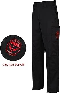 Men's Tactical Pants Heavy Weight Elastic Waist Hiking Cargo Pant