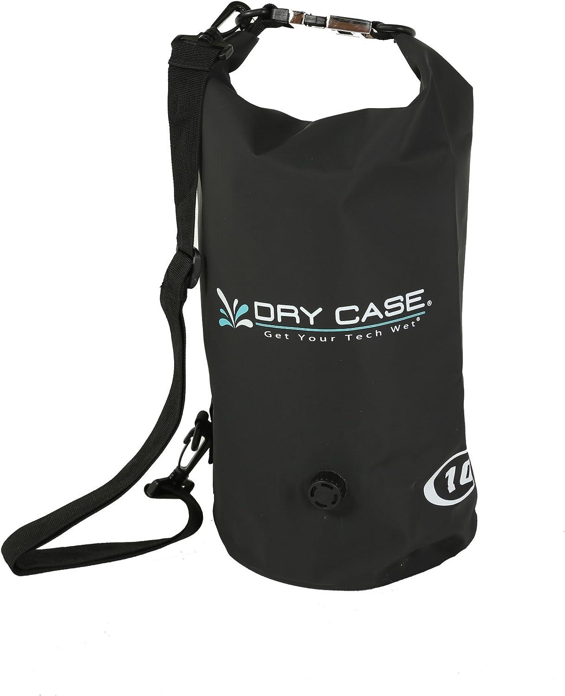 Dry CASE DryCase Waterproof Dry Bag, 10 L, Yellow BP-10-BLK-Parent