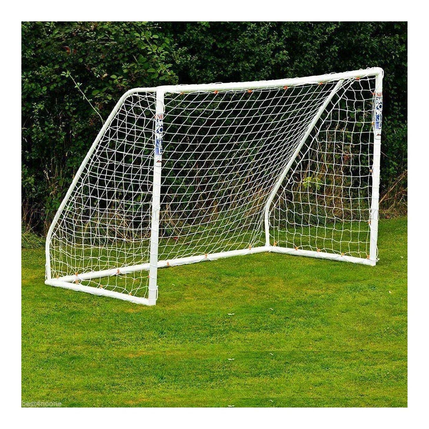 エロチック恋人私たち自身6x4フィート サッカーゴールポストネット 子供用 練習 トレーニング 試合 屋外 PE