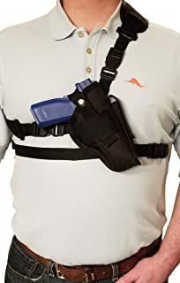 Silverhorse Holsters Chest/Shoulder Gun Holster | Fits Glock 17 19 20 21 22 23 31 32 37 38 with a 4