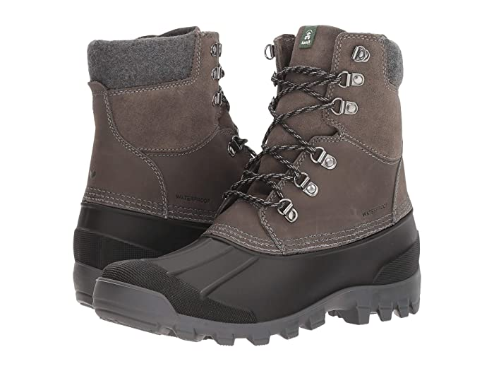 Kamik  Hudson 5 (Charcoal) Mens Cold Weather Boots