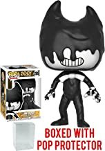 Funko Pop! Games: Bendy and the Ink Machine - Ink Bendy Vinyl Figure (Bundled with Pop Box Protector Case)